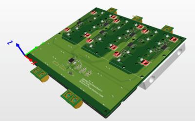 100kW motor inverter reference design for 800V power-bus based on D3GaN
