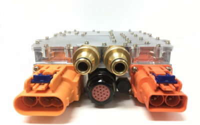 VisIC's smallest 6.7kW On-Board-Charger Reference Design